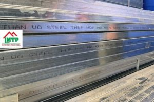 Official distributor of construction steel box in Ho Chi Minh City